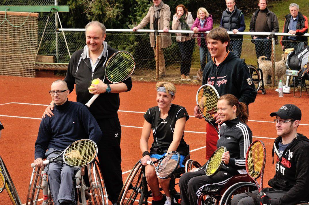 Stehend links Dirk Retzlaff - rechts Christoph Müller